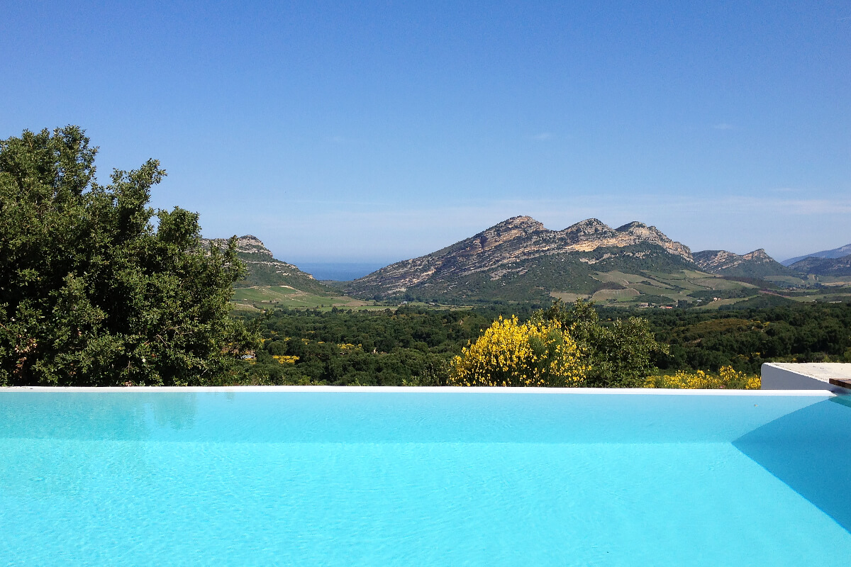 Architect's Villa, Corsica, France   holiday lettings