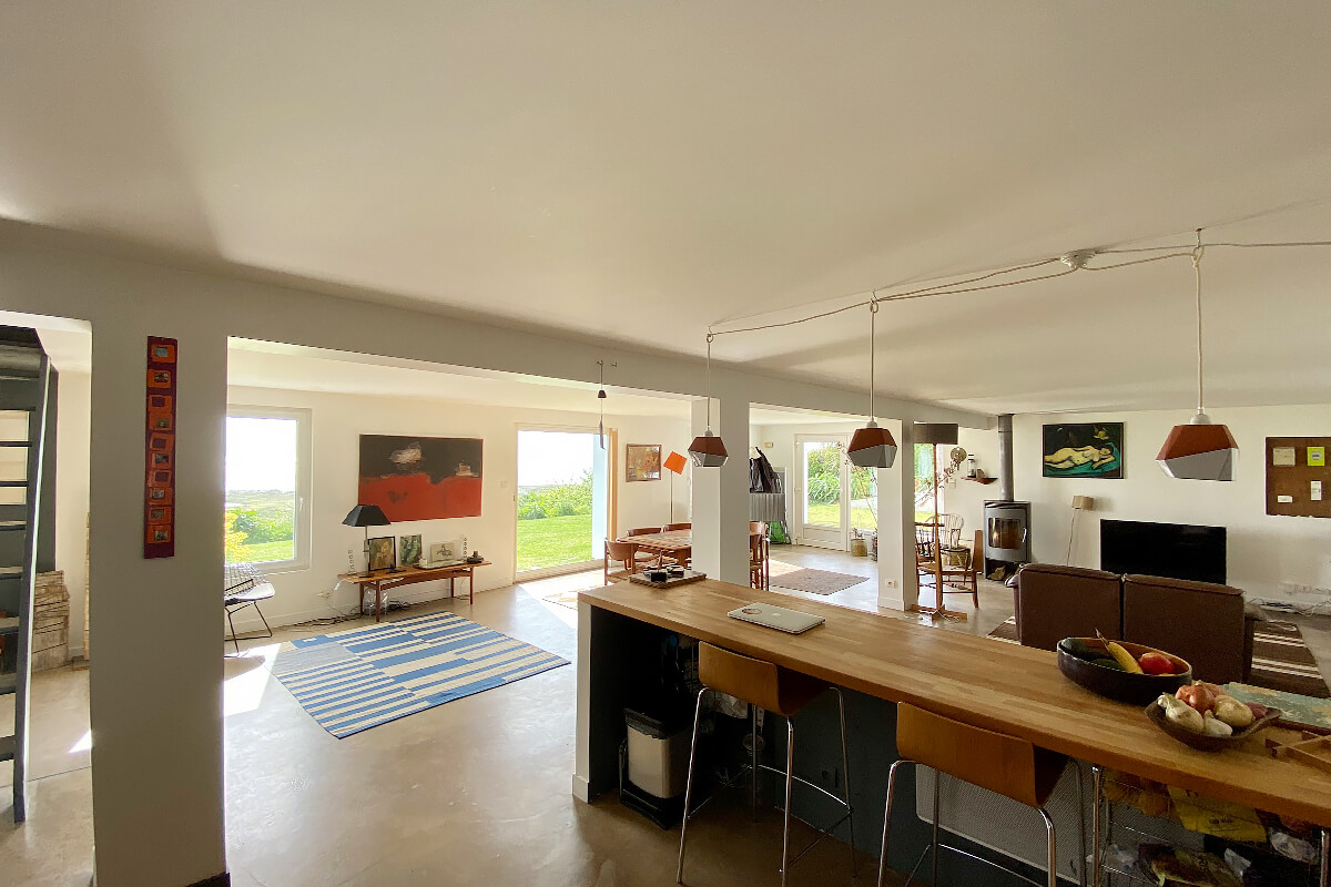 Vauville House, Normandy, France | vacation home rentals