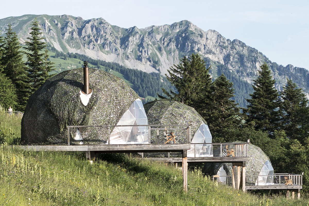 The Pods, Les Cerniers, Switzerland   small luxury hotels, boutique hotels