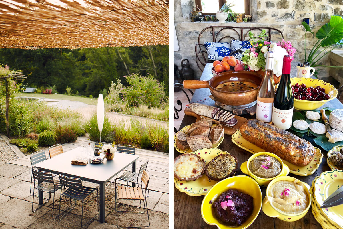 Ecogîte in the Ardèche, Vesseaux, France   vacation home rentals
