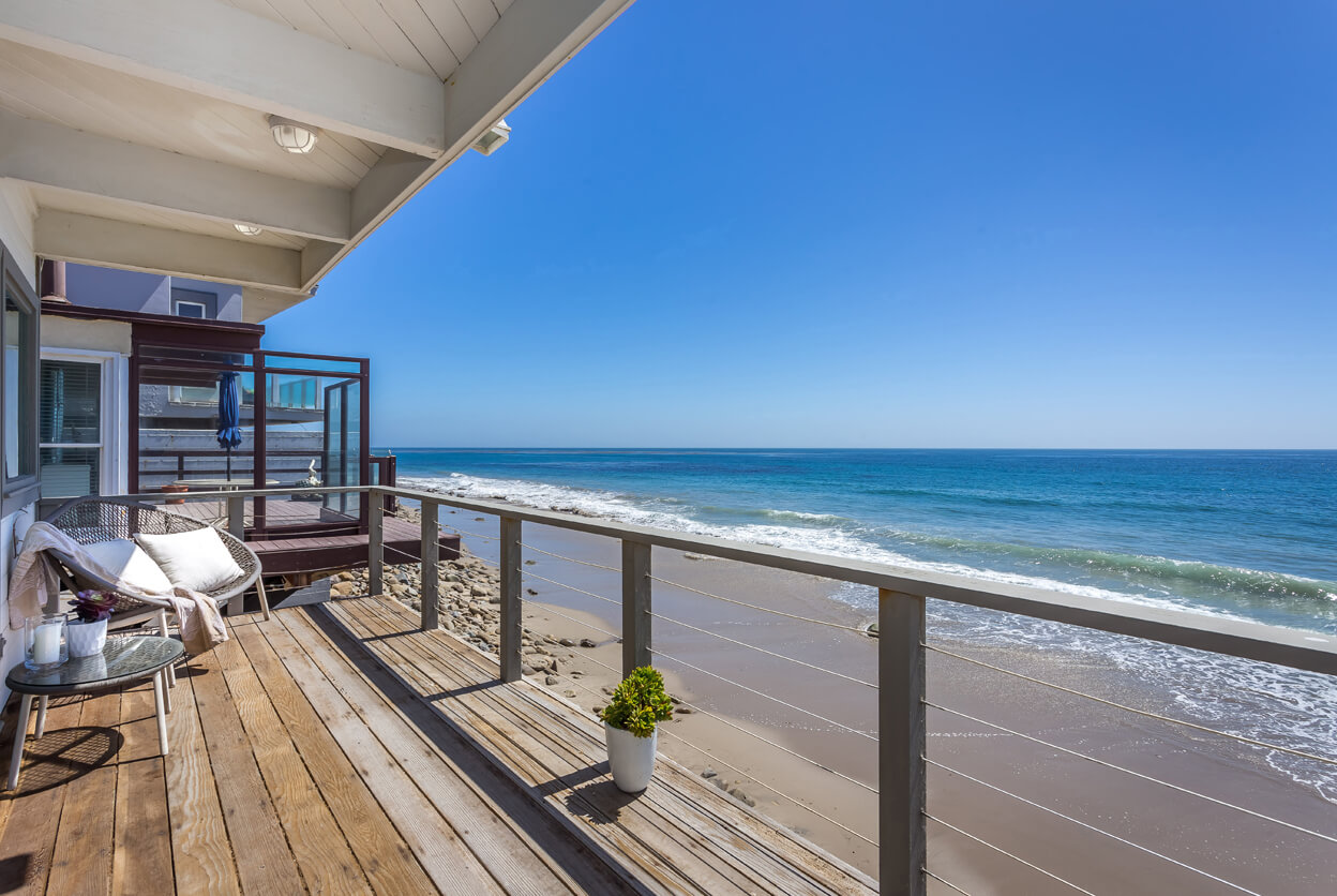 Livingston Beach House, Malibu, California | beach house rentals