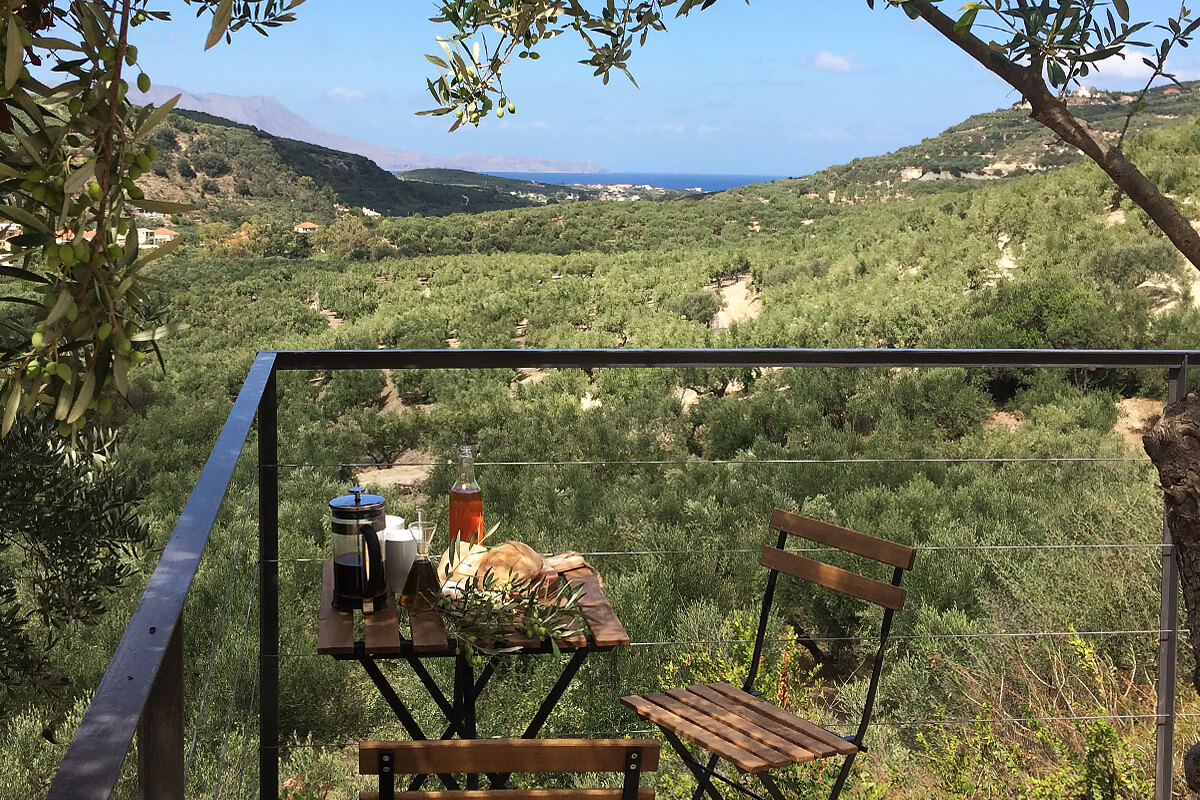 Cabanon Concrete Retreat, Chania, Crete, Greece | cabin rentals