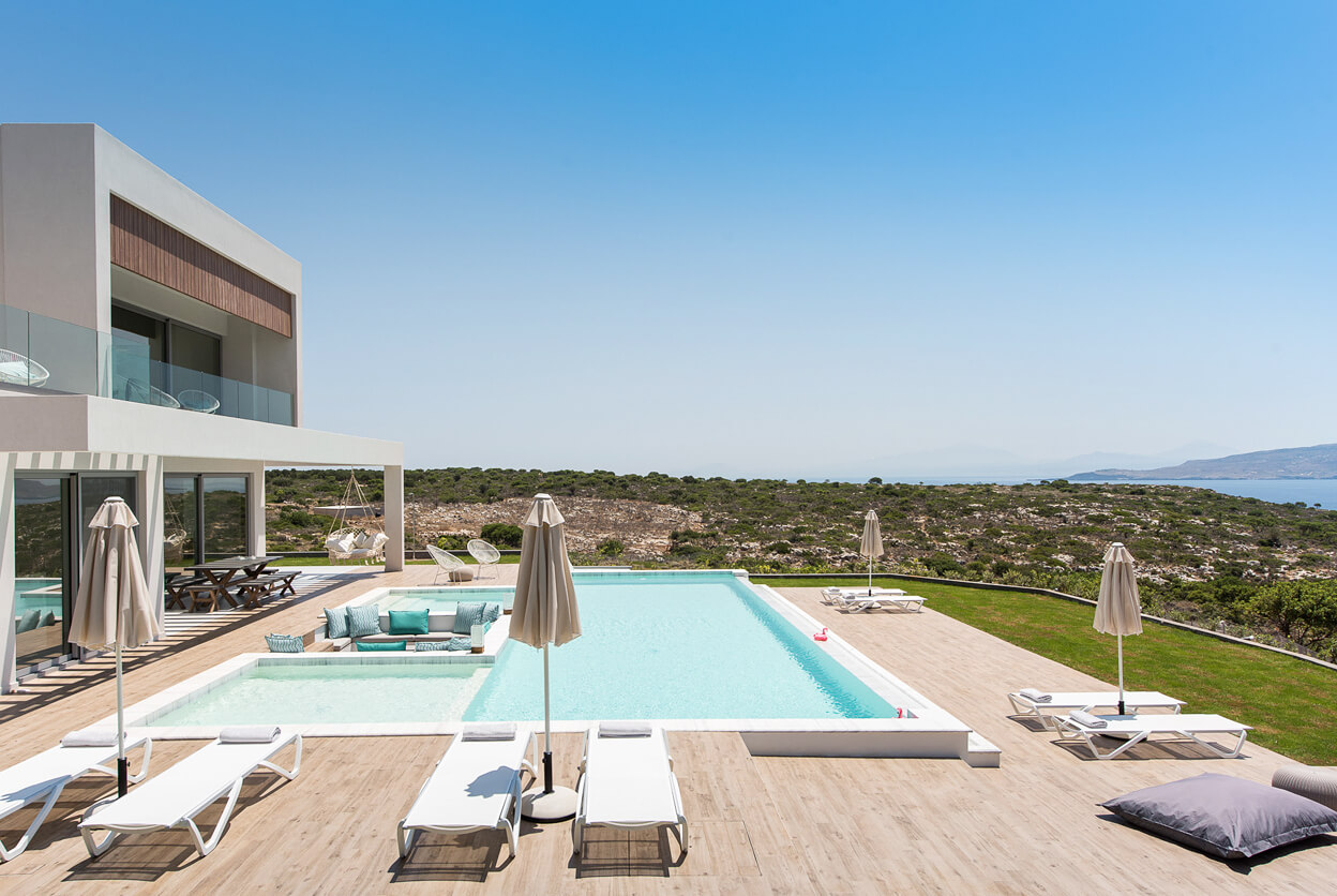 Villa Alas, Chania, Crete, Greece | villas for rent, villas to rent