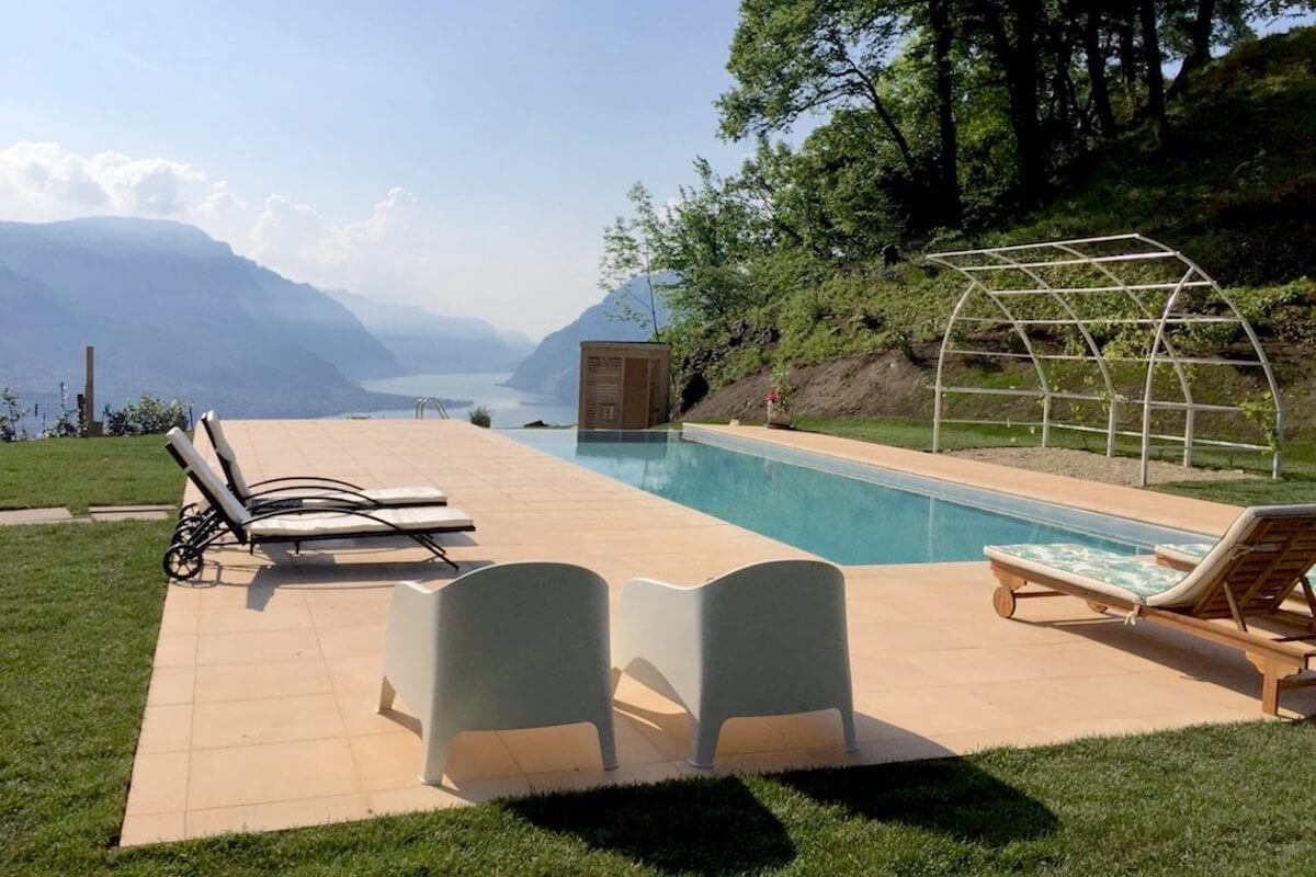 Villa Ponti Belavista, Lake Como, Italy | villas for rent, villas to rent