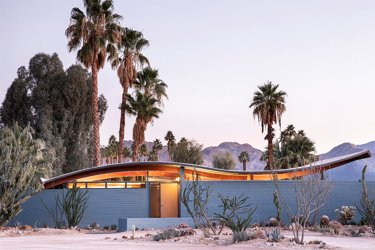 The Desert Wave (Miles C. Bates Wave House), Palm Desert, California | holiday homes, holiday rentals