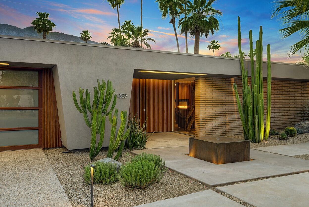 The James M. Hollowell Residence (Playboy Pad), Palm Springs, CA, USA | vacation home rentals