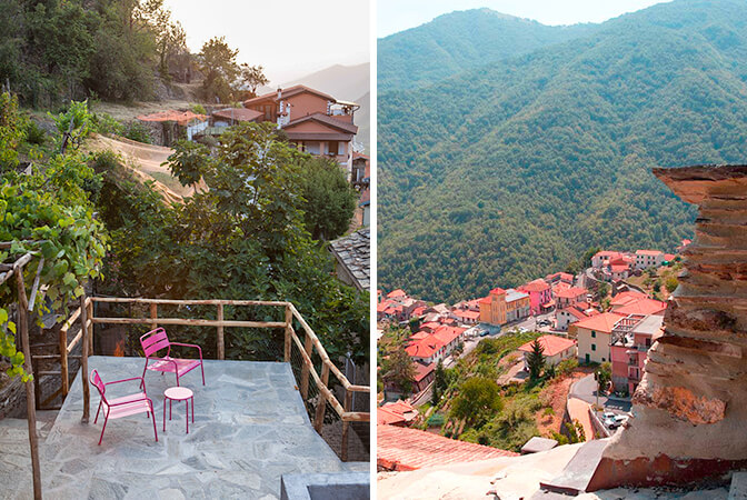 Stone Village House, Rezzo, Liguria, Italy | vacation homes for rent