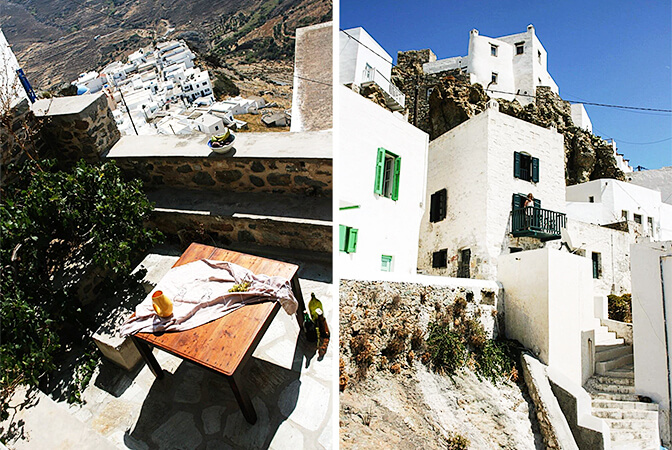 House in Chora, Serifos, Greece   vacation home rentals