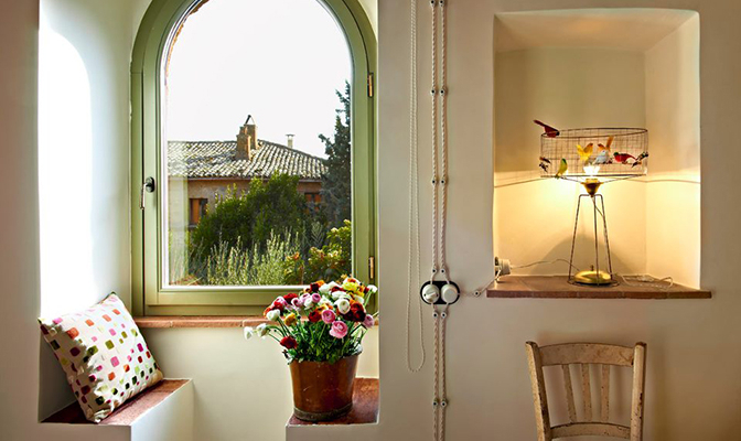 Etruscan Hill, Bagnoregio, Italy | small luxury hotels, boutique hotels