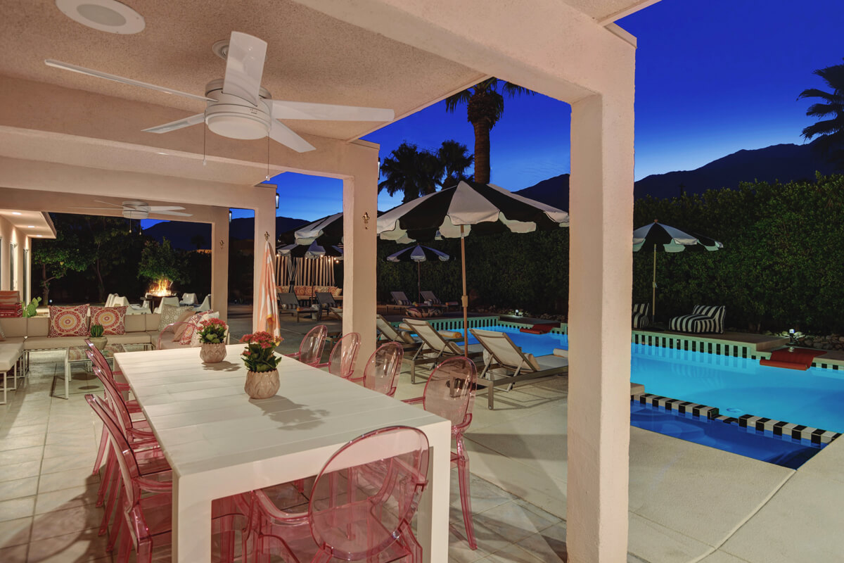 Events at Mod Mirror Villa - Palm Springs, California, United States | modern vacation rentals