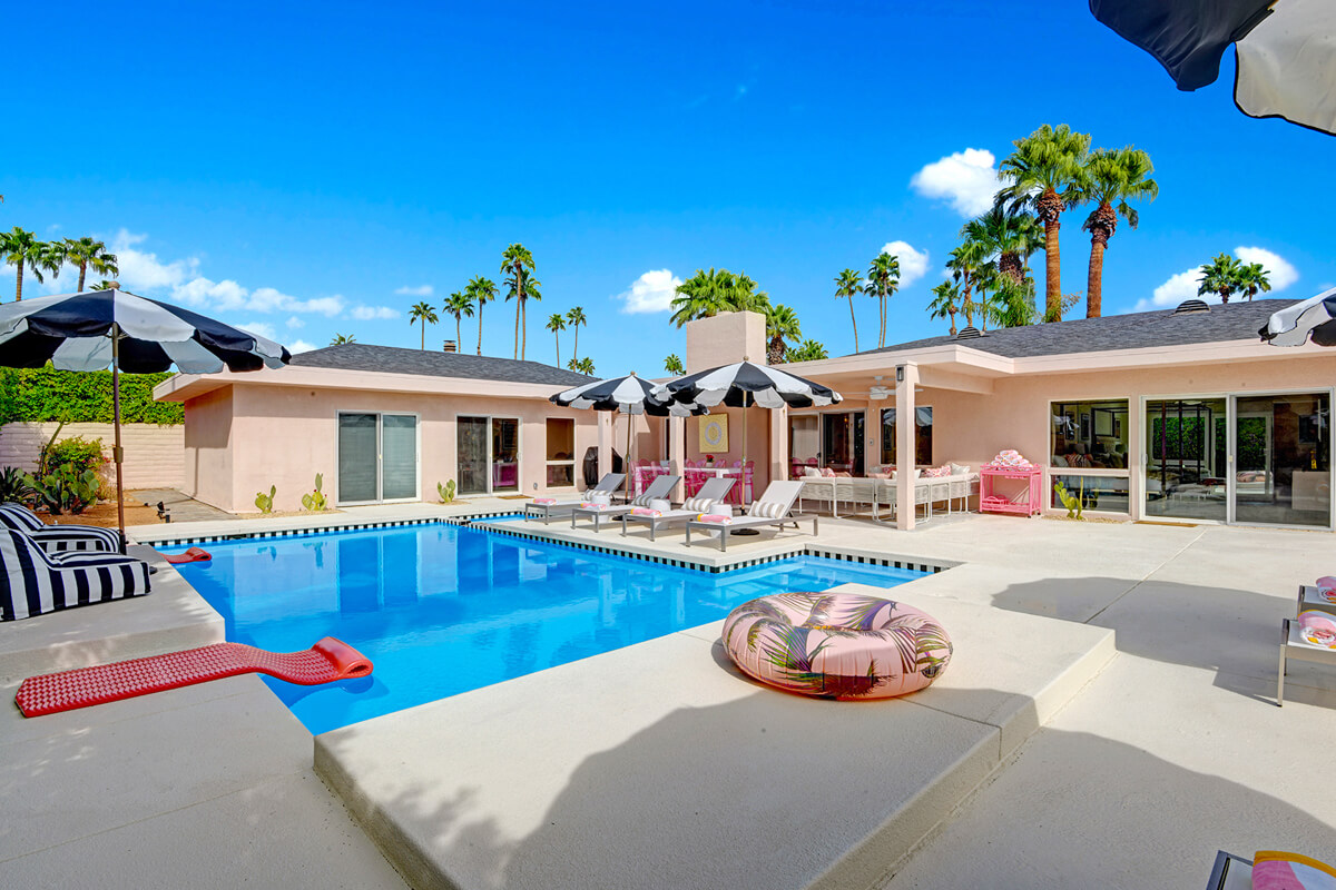 Events at Mod Mirror Villa - Palm Springs, California, United States | modern vacation rentals | modern vacation rentals