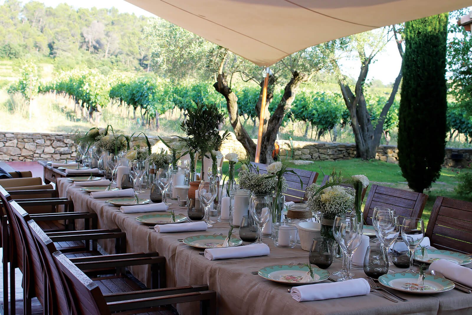 Events at Le Mas de SO, Provence, France |