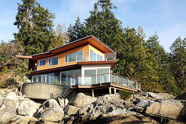 Pointhouse B&B, Halfmoon Bay, British Columbia, Canada   small luxury hotels, boutique hotels
