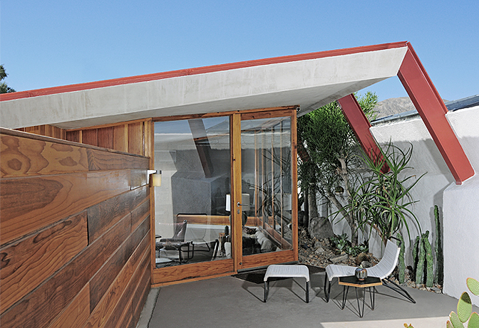 The Lautner, Desert Hot Springs, California   small luxury hotels, boutique hotels