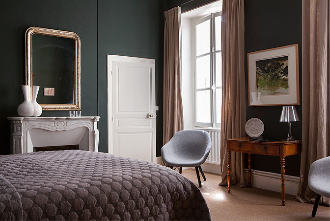 The Modern Chateau, Montigny-la-Resle, Burgundy, France | small luxury hotels, boutique hotels