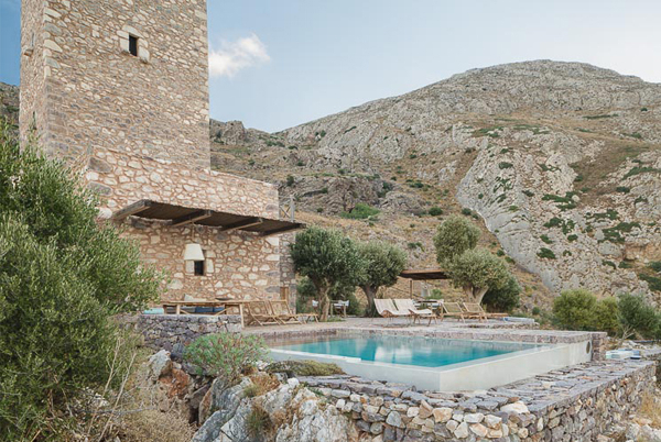 Tainaron Blue Retreat, Mani, Greece | small luxury hotels, boutique hotels