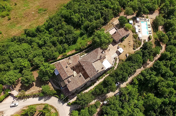 The Old Abbey, Umbria, Italy | small luxury hotels, boutique hotels