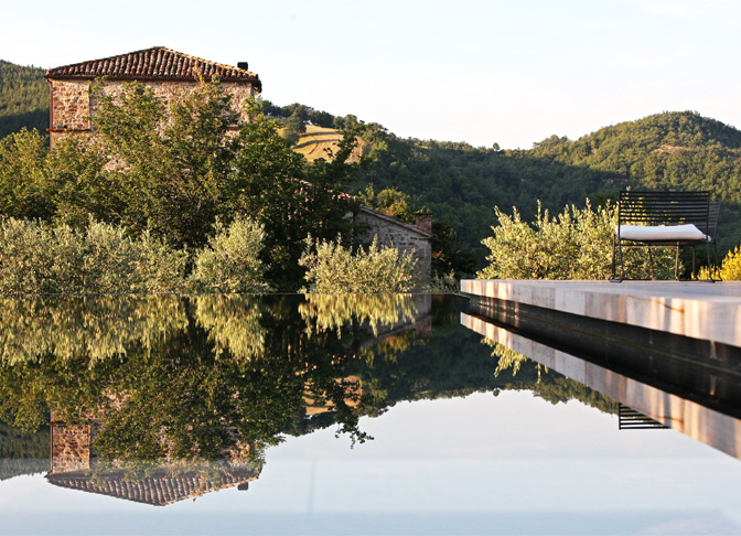 Torre di Moravola, Umbria, Italy | small luxury hotels, boutique hotels
