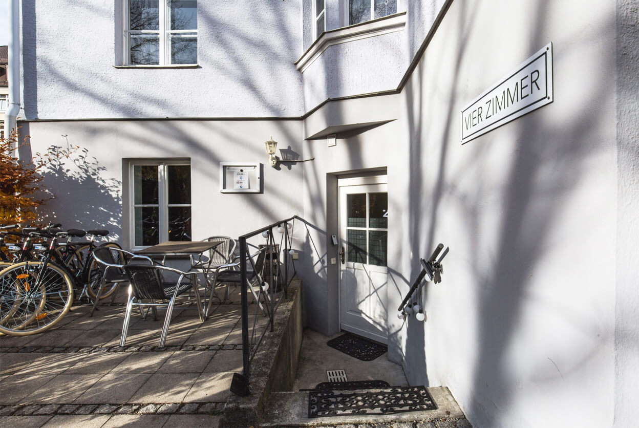 Vier Zimmer, Munich, Germany   small luxury hotels, boutique hotels