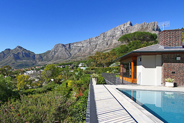 Higgovale House, Cape Town, South Africa   modern vacation rentals