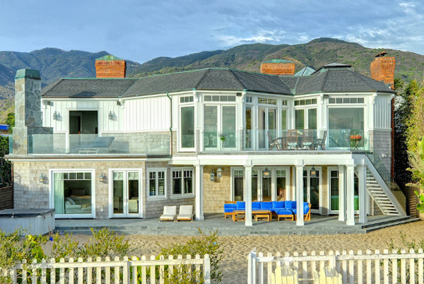 Broad Beach, Malibu, California | beach house rentals