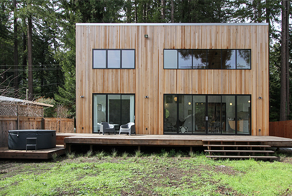 Guerneville Modern, Sonoma, California | holiday homes, holiday rentals