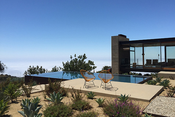 Saddle Peak, Topanga, California | holiday lettings