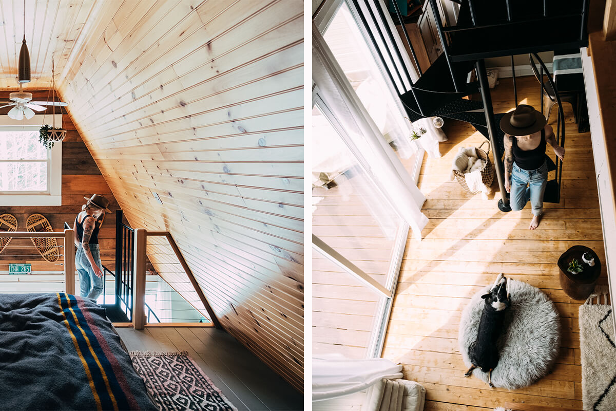 The Kingdom A-Frame - Burke, Vermont, United States0