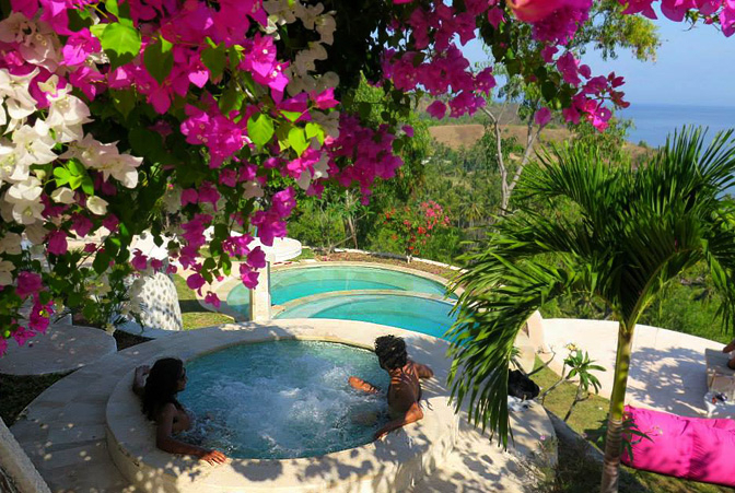 The Dome Villas, Tanjung, Lombok, Indonesia | holiday lettings