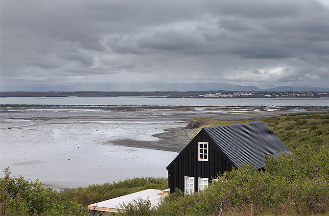 The Black House, Borgarnes, Iceland | vacation home rentals