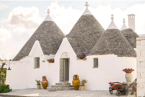 Trulli Gardens, Murgia, Puglia, Italy | vacation homes for rent