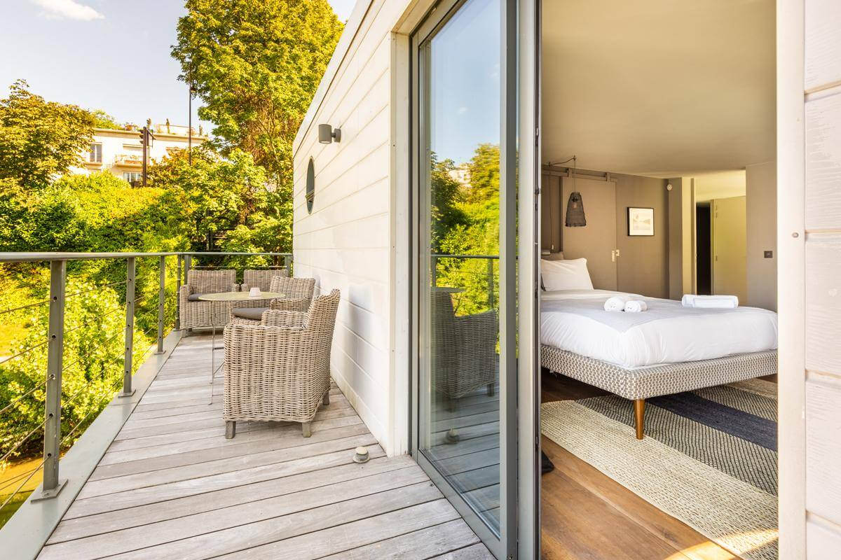 Off-Grid Floating Loft - Neuilly-sur-Seine, Hauts-de-Seine, France   vacation homes for rent   vacation homes for rent
