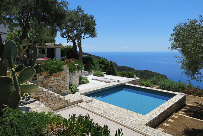 Paxos Cliffside House, Paxos, Greece | vacation home rentals