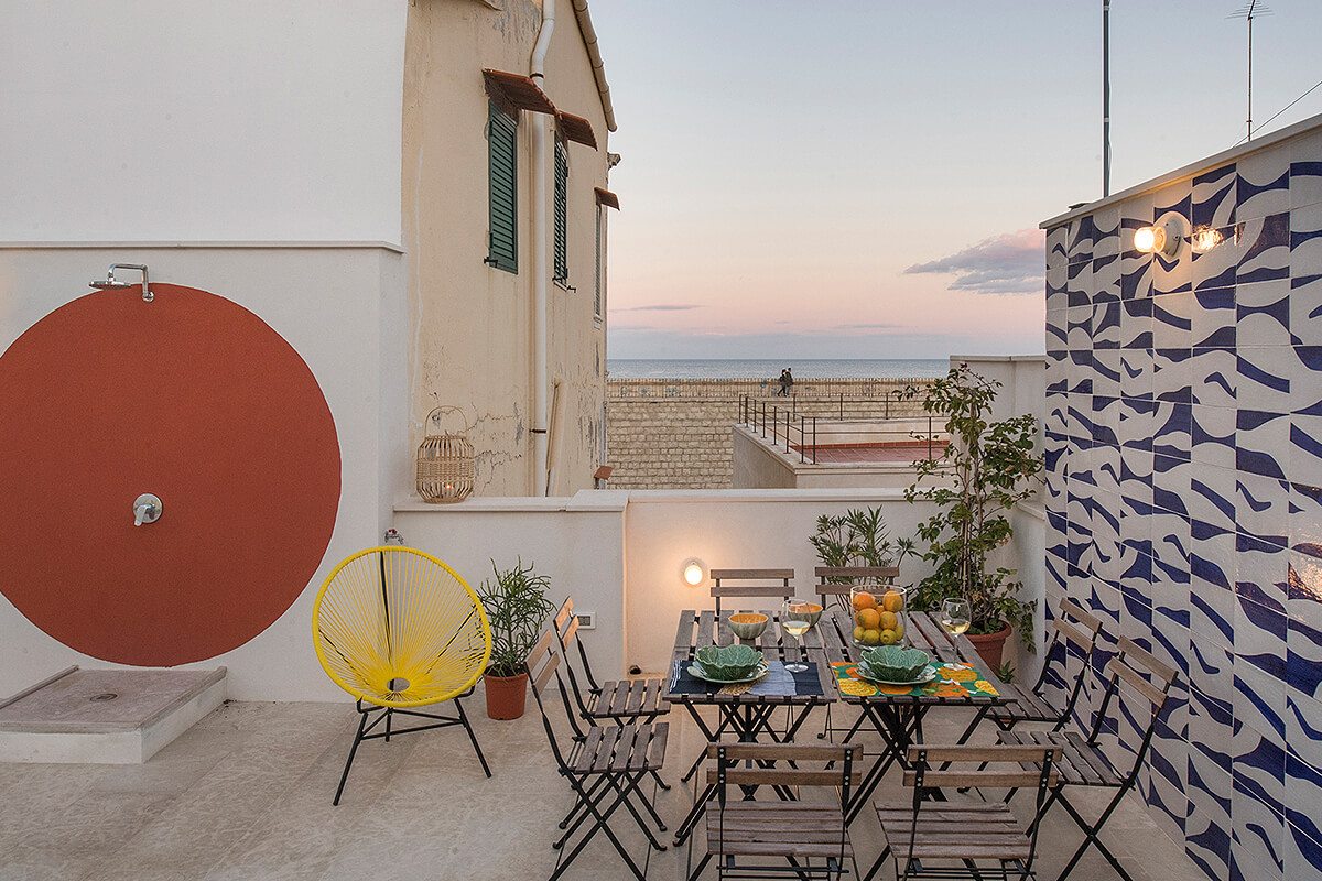 Forte Sea House, Syracuse, Sicily, Italy | vacation home rentals