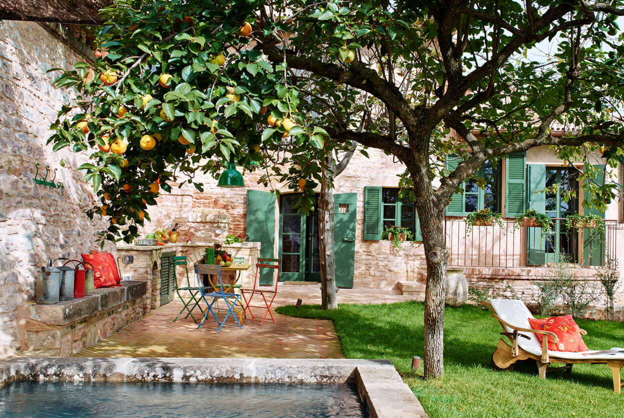 Spello Garden Villa, Umbria, Italy | vacation home rentals