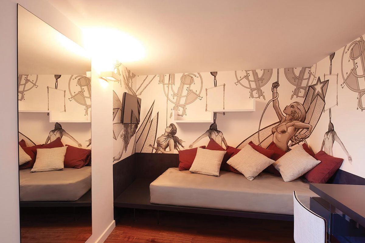 Spiral Circus Suite, Viterbo, Italy | vacation home rentals