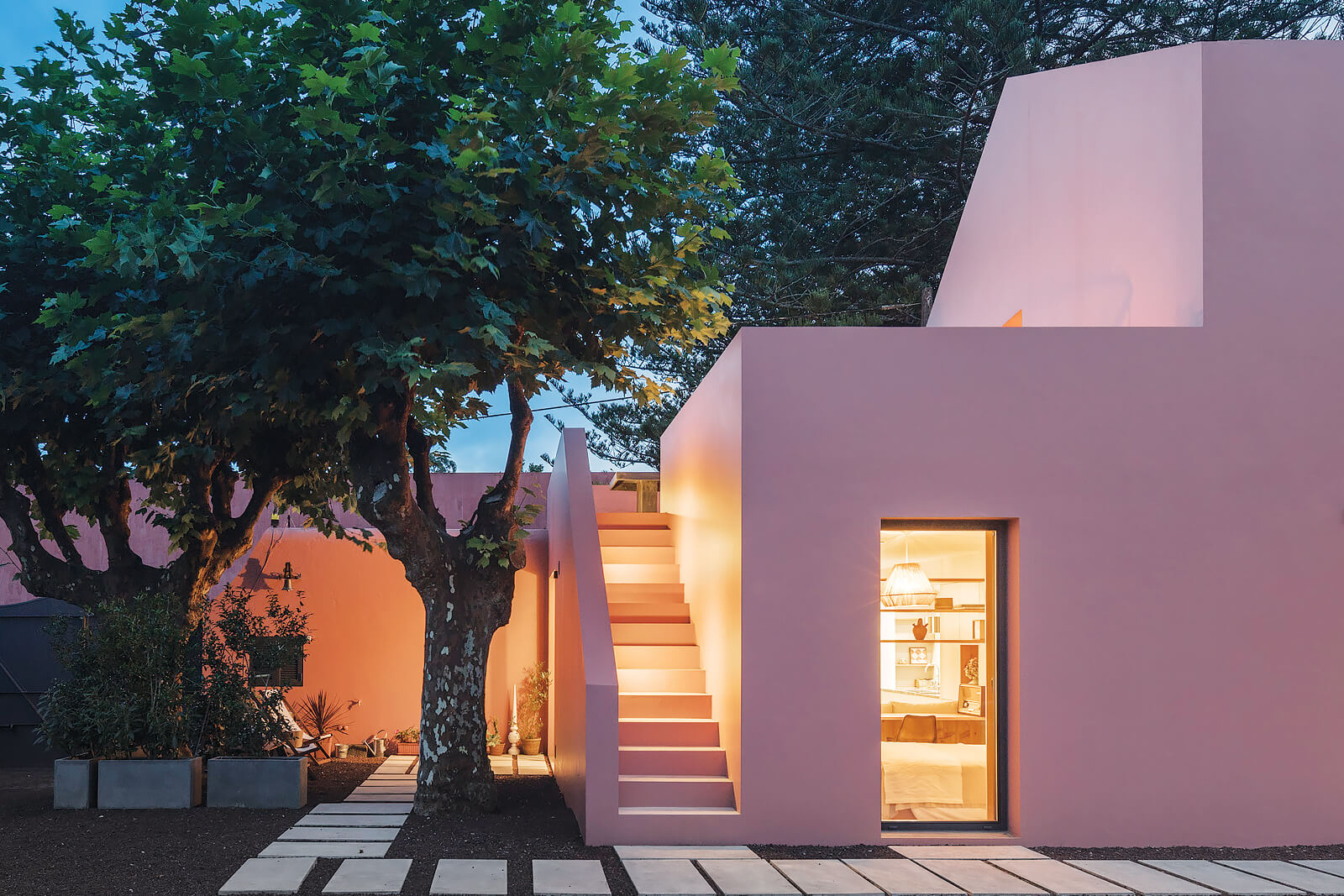 Azores Pink Houses - Sao Miguel, Azores, Portugal | holiday lettings