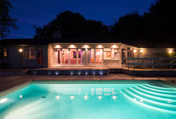 Rodborough Poolhouse, Cotswolds, England | vacation homes for rent