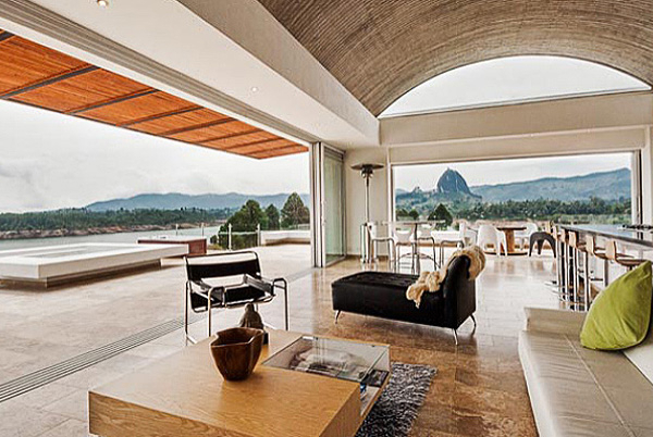 Modern Lake House, Guatapé, Colombia | holiday lettings