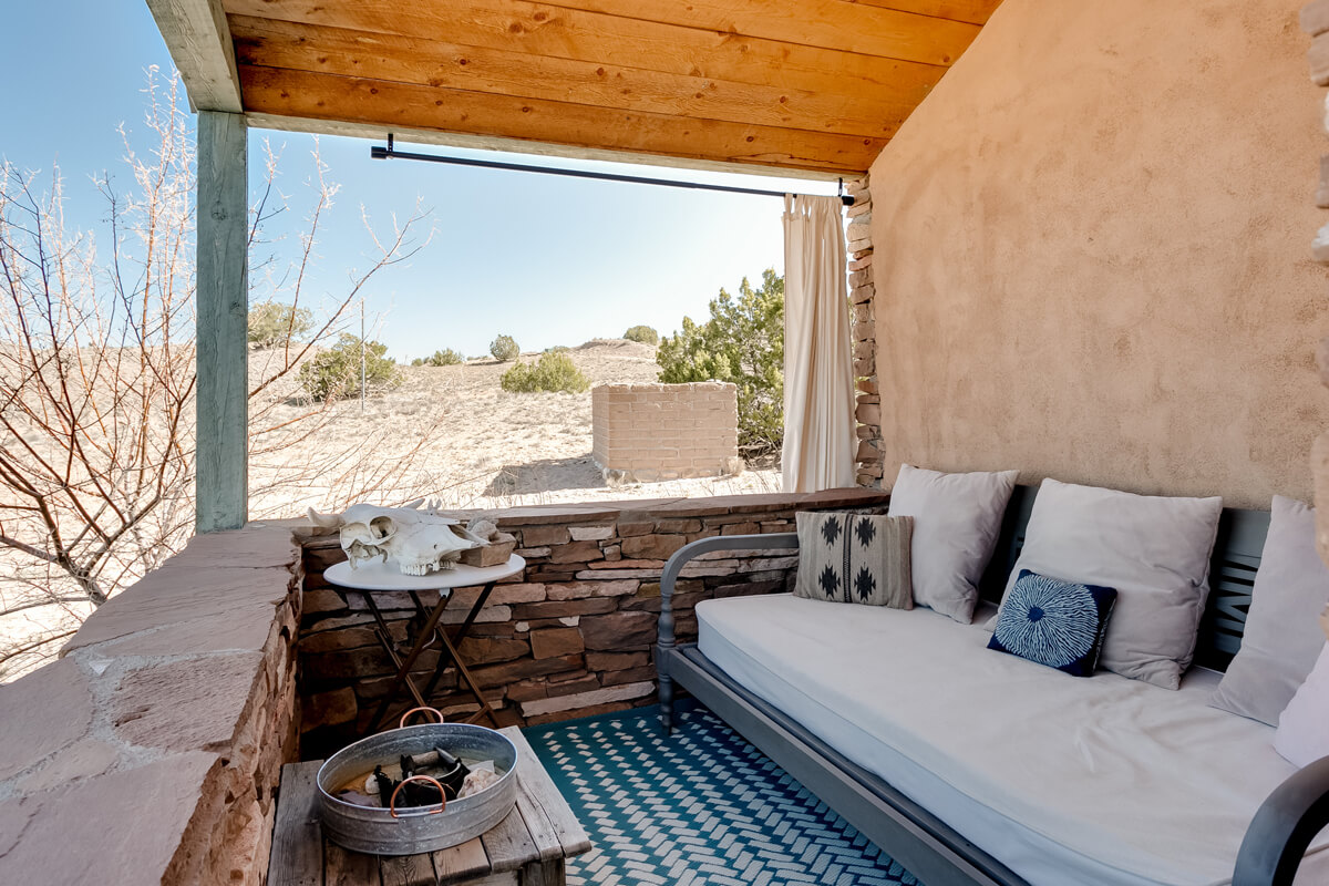 La Biblioteca, OKeeffe Country Abiquiu, New Mexico | vacation homes for rent