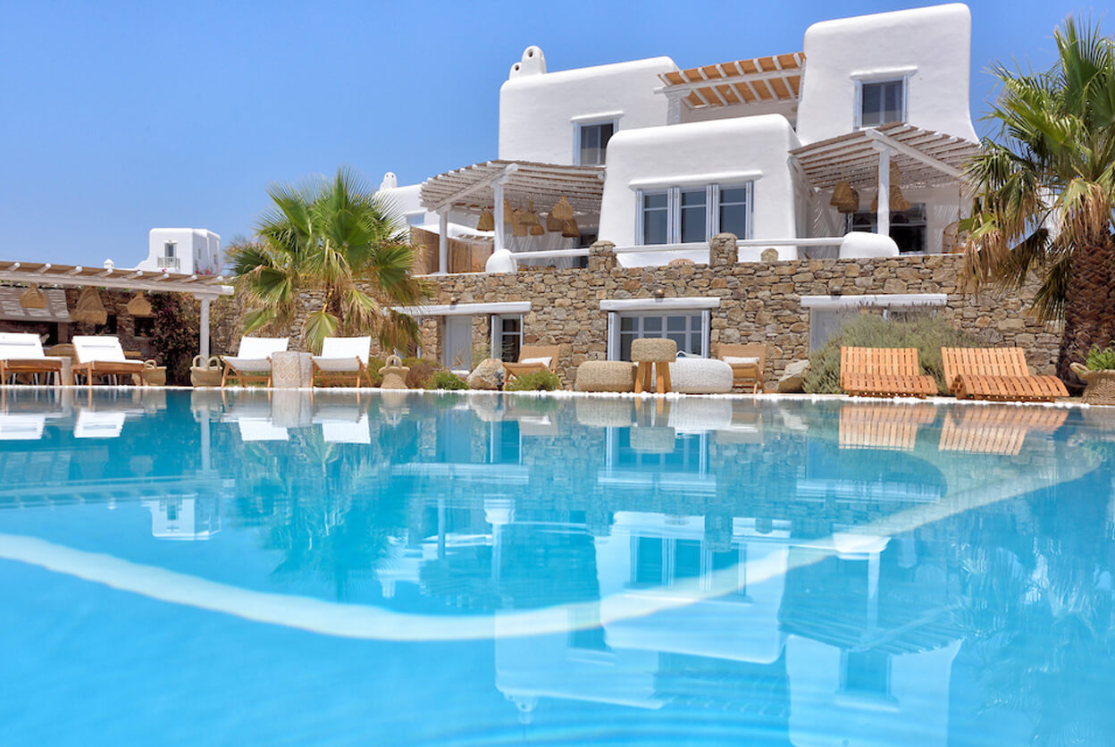 Villa Rea, Mykonos, Greece | villas for rent, villas to rent